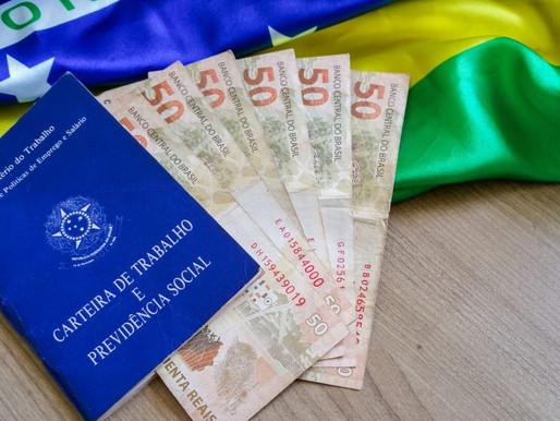 GOVERNO PROPÕE AUMENTO DE R$ 69 PARA O SALÁRIO MÍNIMO EM 2022