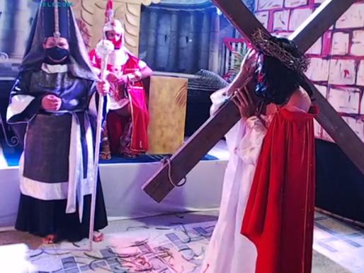 APÓS REALIZAÇÃO DA ENCENAÇÃO, VIDA DE JESUS,  CIA ECOAR CRITICA FALTA DE APOIO DA SECULT DE MADALENA