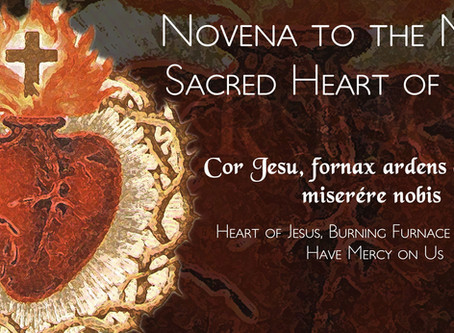 Novena to the Sacred Heart of Jesus - Notice