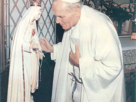 OPTIONAL MEMORIAL OF OUR LADY OF FATIMA, MAY 13, 2021