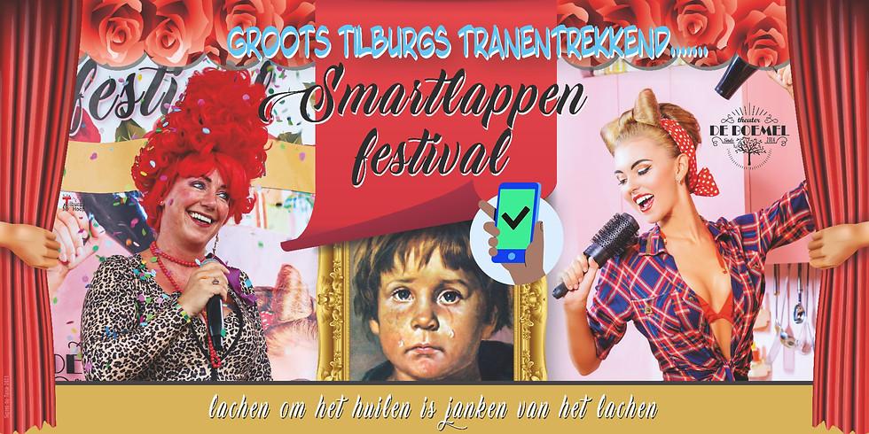 GROOTS TILBURGS TRANENTREKKEND SMARTLAPPEN FESTIVAL-zaterdag 14 aug