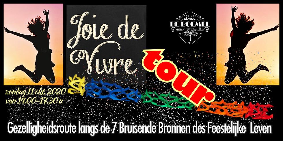 Joie De Vivre TOUR per groep van14 pers