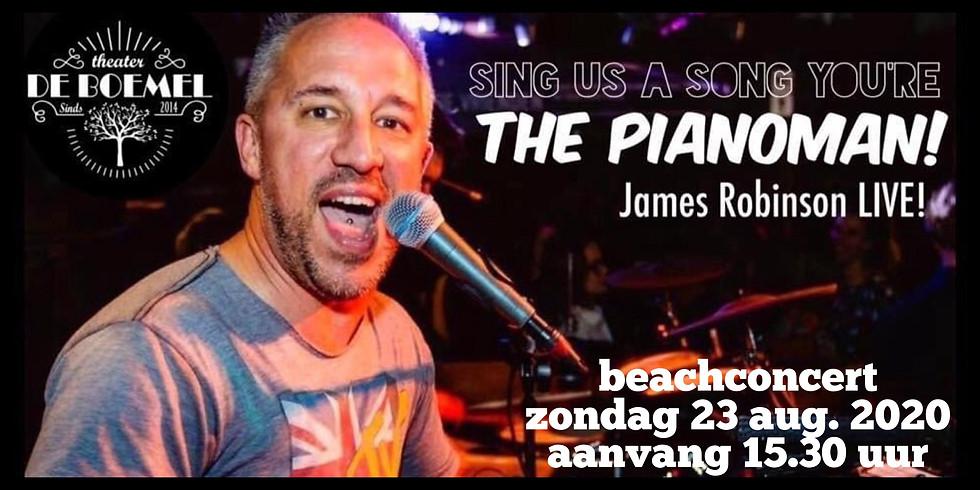 THE PIANOMAN! James Robinson live!