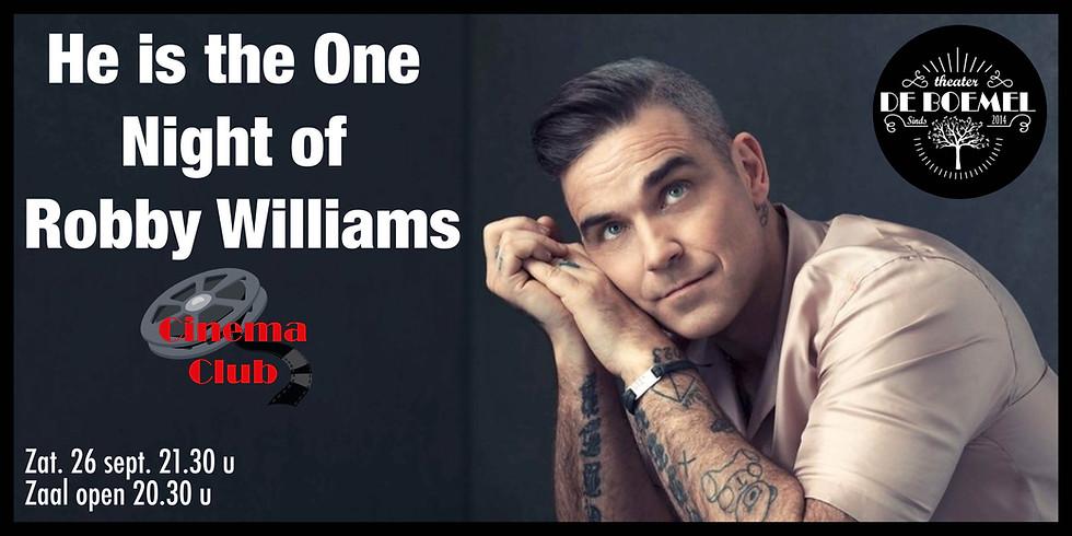 Night of Robbie Williams @ CinemaCLUB De Boemel