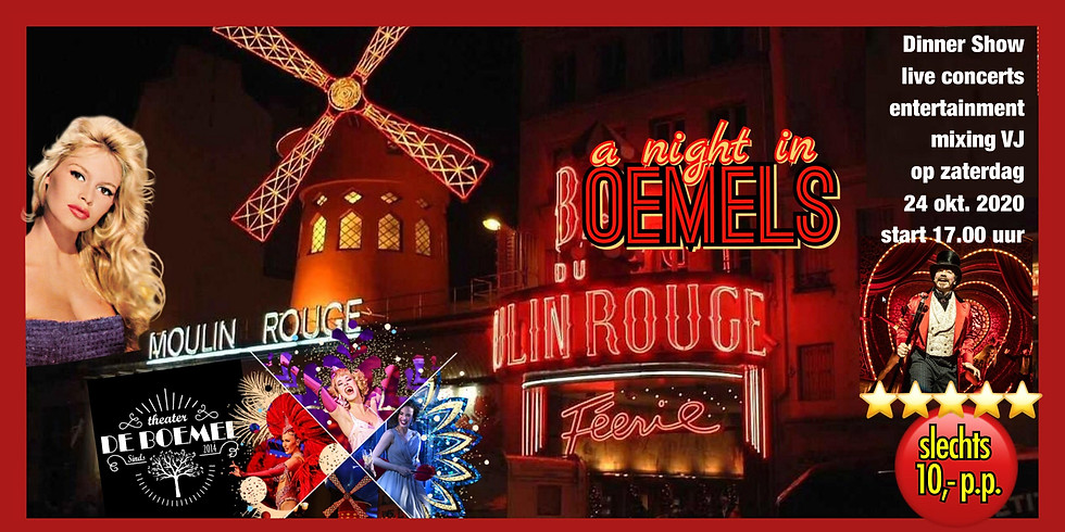 Moulin Rouge Dinner Show