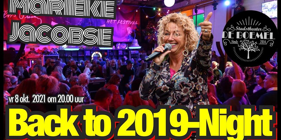 Marieke Jacobse - Back to the 2019-Night
