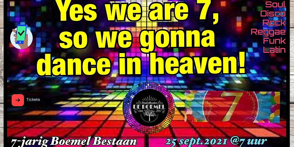 FEEST 7 jaar BOEMEL DANCENIGHT