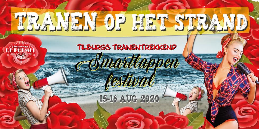 TRANEN OP HET STRAND-Groots Tilburgs Smartlappenfestival - 2020