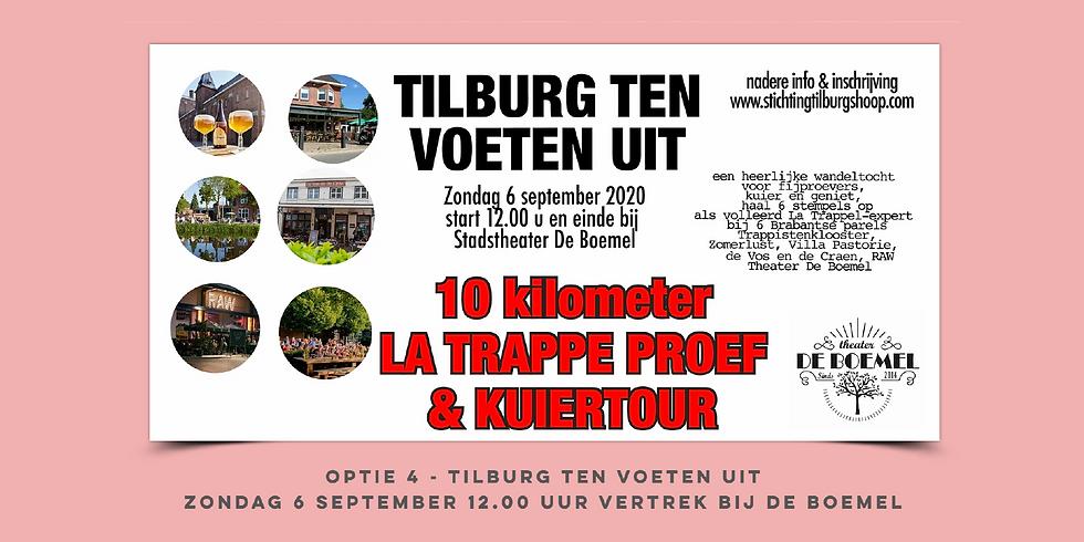 TTVU optie 4 - 10 km La Trappe Proef & Kuier - 6 september 2020
