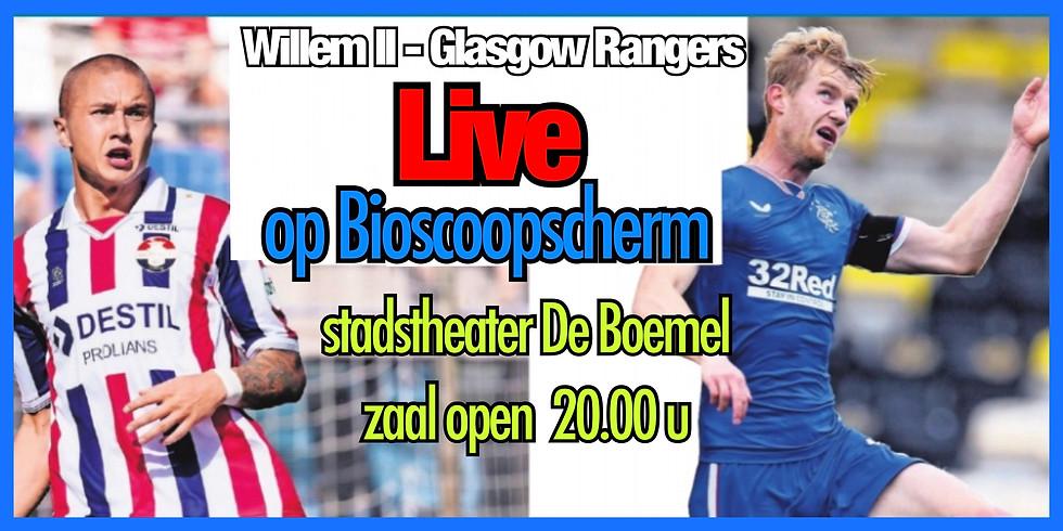 LIVE  Willem II - Glasgow Rangers