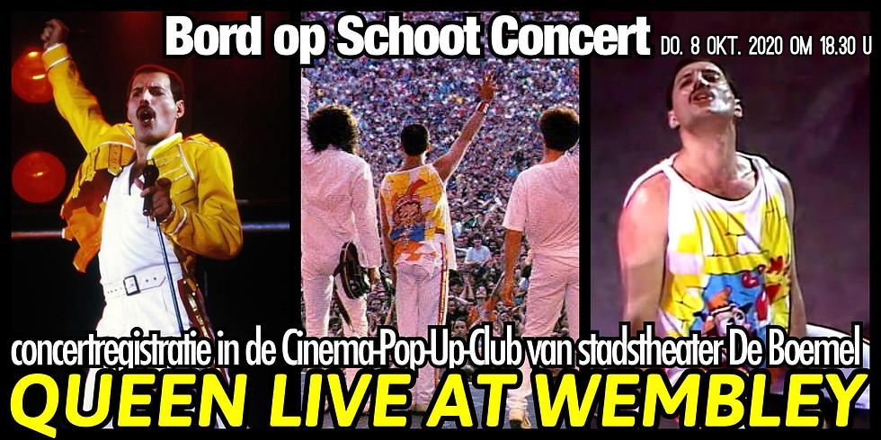 Queen Live@Wembley: CinemaCLUB