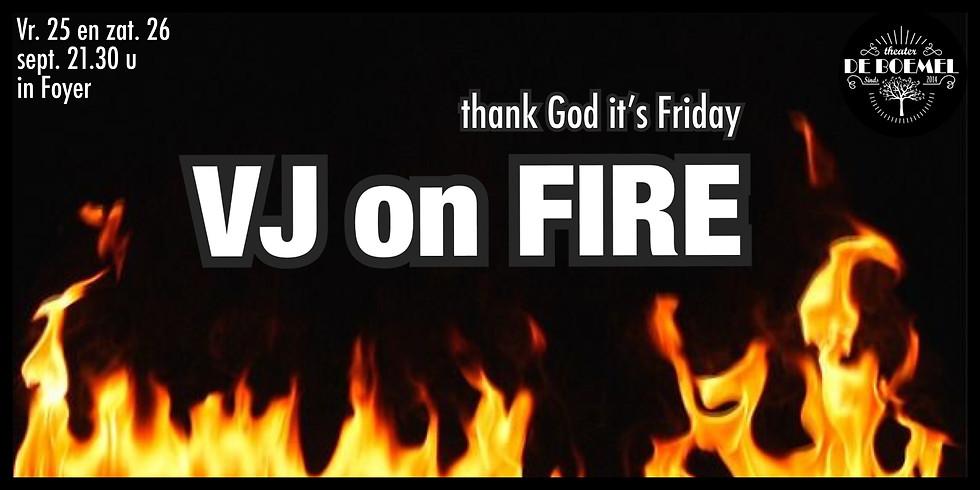 VJ on Fire @Foyer-De Boemel