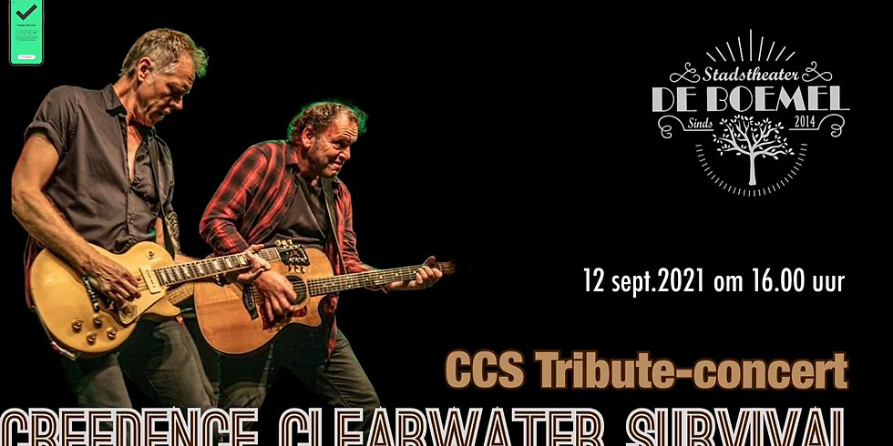 CREEDENCE CLEARWATER SURVIVAL Tribute-concert