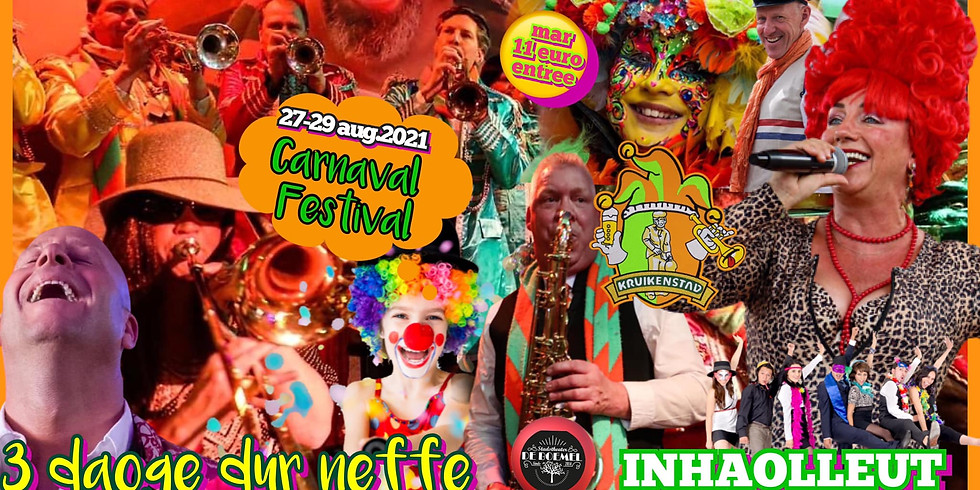 Groots Carnaval Festival 2021