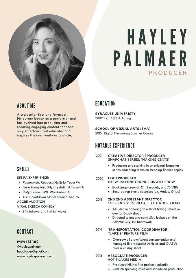 Hayley Palmaer - Producer Resume.png