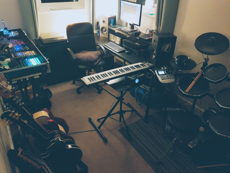 The New Fully Composed Studio Is Online...