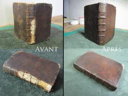 Reliure cuir (1750)