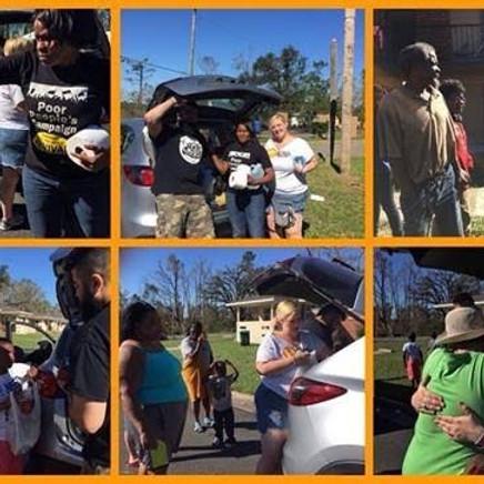 Hurricane Michael Donations Drop-off