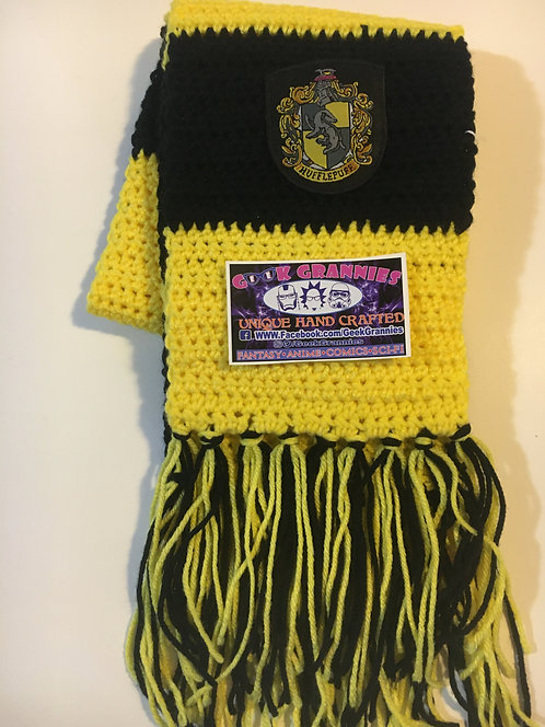 Hufflepuff First Year Scarf 6ft long
