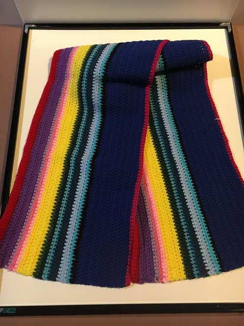 Dr Who Scarf 13TH Doctor pattern 6Ft Long