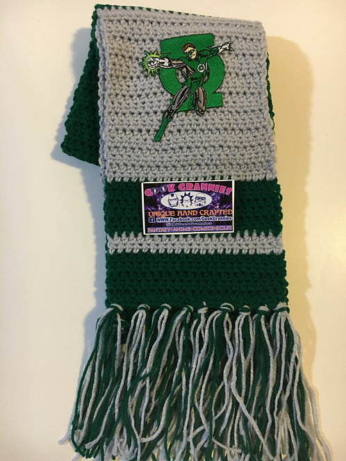 Green Lantern Scarf 6Ft Long