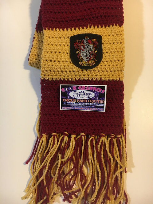 Gryffindor First Year Scarf 6ft Long