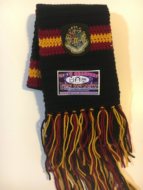 Gryffindor Second Year Scarf 6ft Long