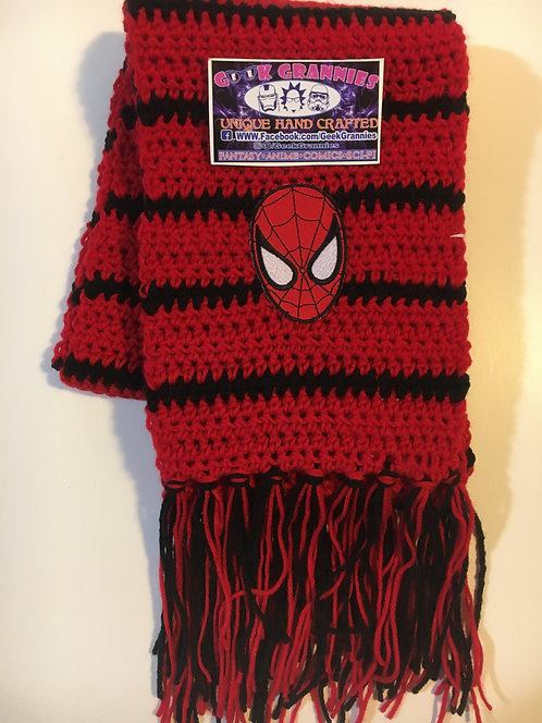 Spiderman Scarf 6Ft Long