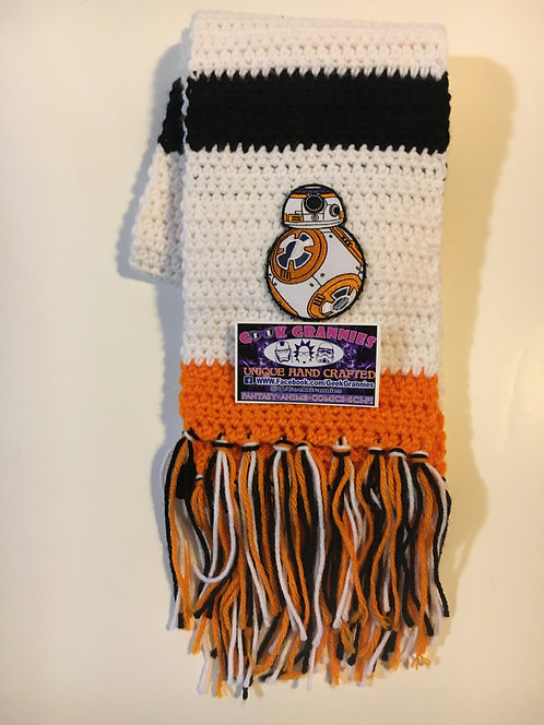 BB8 Scarf 6FT Long