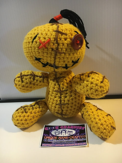 "Voodoo Doll 9"" (Yellow)"