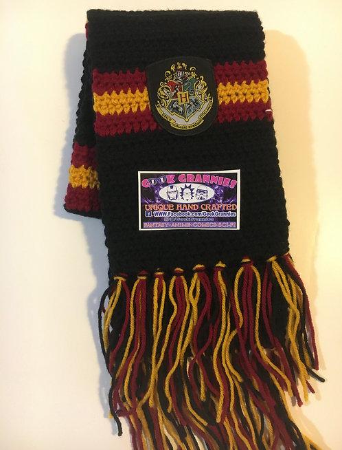 Hogwarts Patch, Ravenclaw Colors Scarf 6ft long