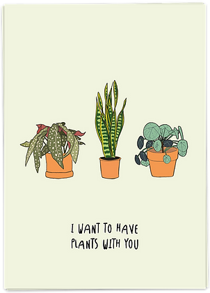 PLANTS WITH YOU
