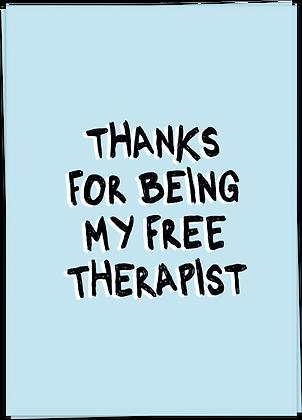 FREE THERAPIST (pre-order*)