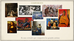 La composición en el arte