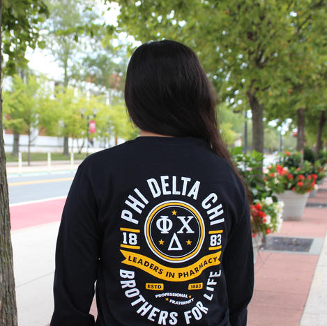 Black and Yellow Long Sleeve