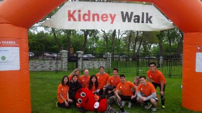 Kidney Walk at Mercer County Park