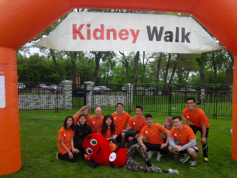 Kidney Walk at Mercer County Park