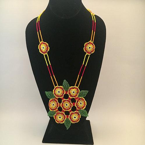 Flower Bundle Necklace