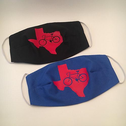 Bike Texas Face Mask