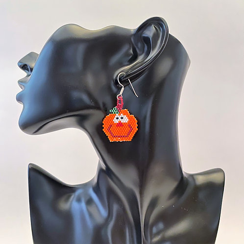 Silly Pumpkin Earrings