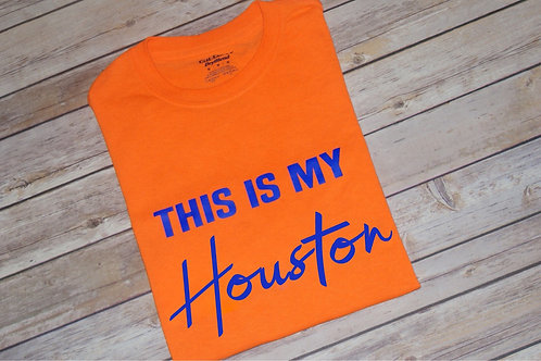 Unisex This Is My Houston or H-Town Tee