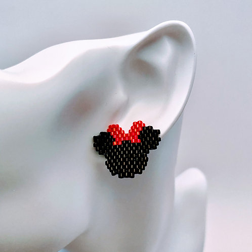 Mickey/Minnie Stud Earrings