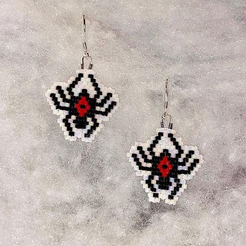 Black Widow Earrings