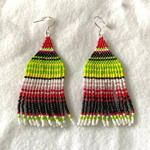 Sarape Miyuki Bead Earrings