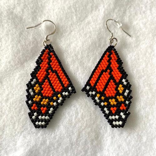 Butterfly Miyuki Bead Earrings