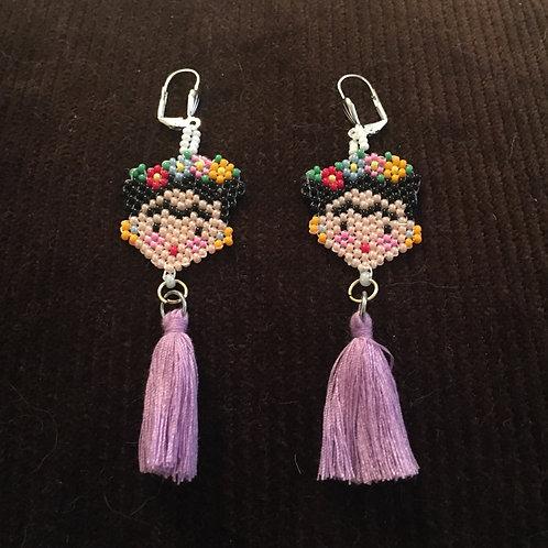 Mini Frida Tassel Earrings