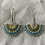 Thumbnail: Fan Bead Earrings