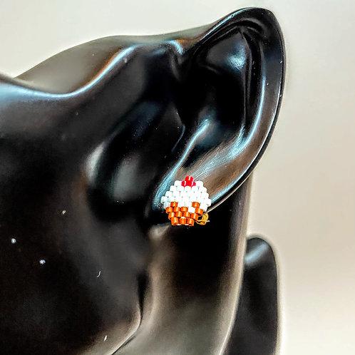 Cupcake Stud Earrings