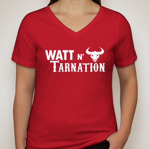 Women's Watt n' Tarnation V-Neck