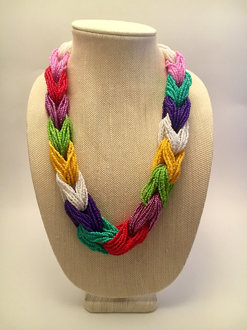 Colored Knots Necklace